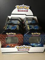 Pokemon Hidden Fates Empty Tins X6 with display stand - 2 of each design