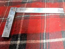 9 X 6 INCH MACHINIST STEEL SQUARE #150802 SLOT #G0403A