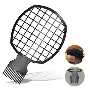 Magic Hair Twist Hair Coils Comb Tool Afro Pick Hair Curl Sponge Brush Black NEW
