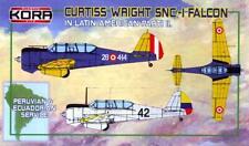 KORA Models 1/72 CURTISS WRIGHT SNC-1 FALCON Peru & Ecuador Air Forces