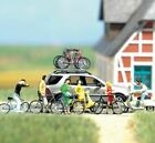 BUSCH HO SCALE 1/87 BICYCLE & SCOOTER SET | BN | 6013