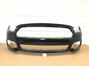 2015 2016 2017 ford mustang front bumper cover (black color) #1