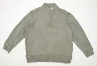 Fat Face Mens Size 2XL Cotton Blend Grey Zip Up Sweatshirt