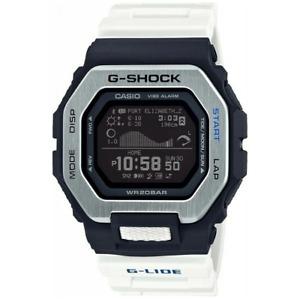 Casio G-Shock G-LIDE Bluetooth Step Tracker Tide Graph GBX100-7 Black/White 2020
