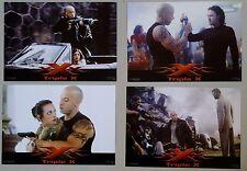 (Z242) Fotosatz + WR + A1 Plakat XXX - Triple X Vin Diesel/ Asia Argento