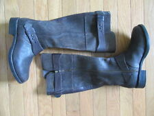 UGG AUSTRALIA DAYLE LODGE TALL RIDING BOOTS, BROWN, NWT, SIZE 5M