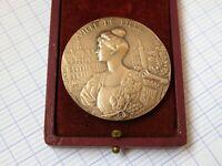 Médaille,de bronze ville de Lille de DUBOIS