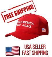 Make America Great Again Cap Trump MAGA Slogan Red Baseball Hat