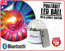 LED Party Light Portable Bluetooth Music Ball Mp3 Speaker Rechargeable Vs70