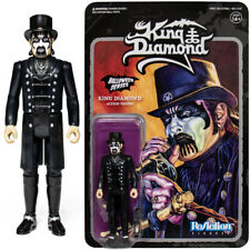 KING DIAMOND - Halloween Series Collectable Action Figure Toy ReAction 3.75""