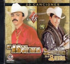 El As De La Sierra y El Halcon de La Sierra 20 Canciones  CD New Sealed
