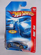 Hot Wheels 2007 Code Car Series #108 Mitsubishi Eclipse Concept Car Blue w 10SPs