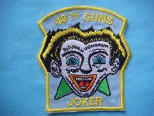 """VIETNAM WAR PATCH, US 48th ASSAULT HELICOPTER CO. 3RD PLATOON  GUNS """"JOKER """""""
