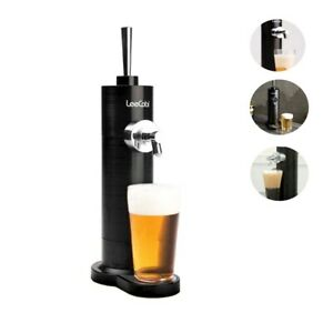 LeeCobi Tap Beer Dispenser, Black