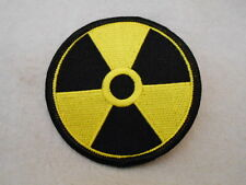 RADIATION   NEW EMBROIDERED IRON ON/SEW ON NAME PATCH  TAG