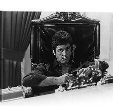 Bild auf Leinwand Al Pacino Scarface 1p XXL Poster Leinwandbild Wandbild