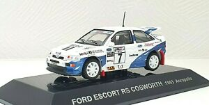 1/64 CM's Rally 1993 FORD ESCORT COSWORTH ACROPOLIS Mobil1 #7 diecast model