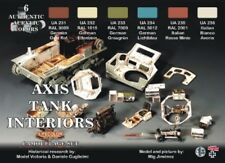 LIFECOLOR Axis WWII Tank Interiors Acrylic Paint Set 6 22ML Bottles FREE SHIP