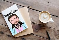 Post Malone Congratulations Card