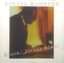 CD LIONEL HAMPTON - basin' street blues