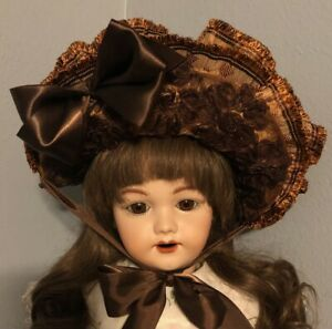 Artisan Doll Hat For Larger Antique or Repro Doll