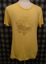 Rare Phish Alpine Valley T shirt American Apparel Medium Organic Cotton yellow