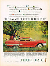 Vintage 1960 Magazine Ad Dodge Dart Comfort Is King In New Low-Priced Dodge Dart