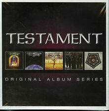 Testament Original Album Series 5 CD new Legacy New Order Ritual Souls of Black