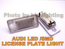 2x AUDI A3 S3 A4 B6 B7 A6 S6 Q7  LED LICENSE PLATE LIGHT Error Free SMD