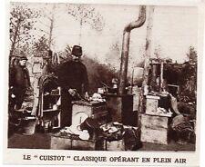 """1916  --  LE """" CUISTOT """" CLASSIQUE OPERANT EN PLEIN AIR"""
