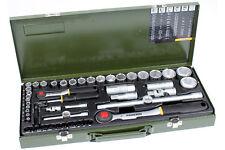 """Proxxon 23040 Komplettkasten Steckschlüssel Satz 1/4"""" & 1/2"""" 56-tlg Werkzeug Set"""