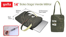 "BOLSO PARA PORTATIL 14"" GOLLA G1043 Army Green"
