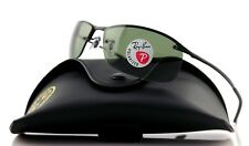 POLARIZED New RAY-BAN Active Lifestyle Matte Black Green Sunglasses RB3183 W3339