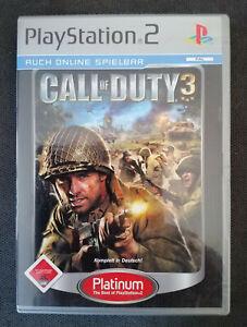 PlayStation 2 Spiel - Call of Duty 3 (2006, DVD-Box - Platinum)