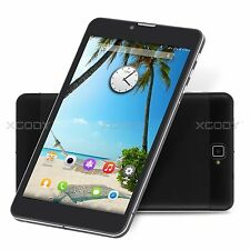 Unlocked 7'' Android4.4 Smartphone Cell Phone Phablet Quad Core Dual Sim 3G WIFI