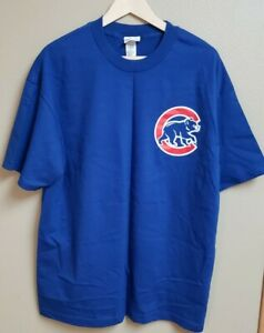 New Men's XL Majestic T Shirt Chicago Cubs Kerry Wood #34