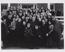 FRANCES BENJAMIN JOHNSTON Carlisle Indian School Group circa 1890s press photo 5