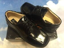 Cavoo Boys Leather School Uniform Oxford Dress Shoe Toddler Size 10 to Youth 5