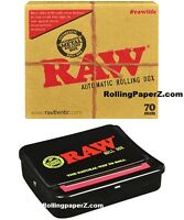 New RAW Automatic Rolling Box Cigarette Rolling Machine Tobacco 70mm Free Ship