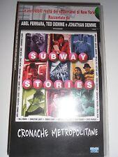 VHS Subway Stories Cronache Metropolitane Corto Abel Ferrara Love On The Train