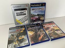 PS2 Racing Retro Games Bundle x5 Scar WRC Rally Fusion ATV Off-road Fury 2