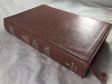 1990 Nelson NKJV New Open Bible Study Edition Pink Rose Bonded Leather 1455DR