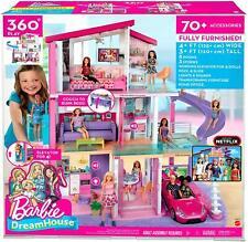 Barbie Dreamhouse aventuras de raíces grandes casas de Muñecas Rosa Niñas Niños Juguete Juego