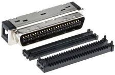 3M Macho 50 Pines Ángulo Derecho Cable Soporte SCSI Conector 1.27mm
