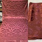 VTG+1930-40%E2%80%99+Art+Deco+Tropical+Print+Brocade+Drapery+Panel+%2F+Fabric+Yardage+1930