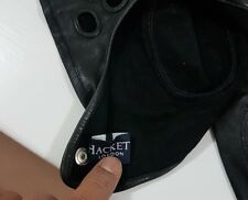 ASTON MARTIN DRIVING BLACK NAPPA LEATHER GLOVES BY HACKETT LONDON XL