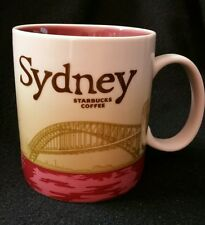 2012 Starbucks Coffee Mug Global Icon Sydney Australia 16 oz