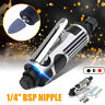 """1/4"""" Air Pneumatic Die Grinder Grinder Polisher Angle Cutting Rotary Tool Kit"""