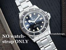 Ostra De Acero Inoxidable Pulsera Correa Para Vintage Reloj Rolex Submariner 20mm