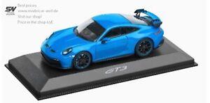 Porsche 911 GT3 992 1:43 Minichamps blau shark blue Shoppreis 65€